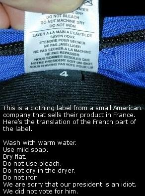 french label
